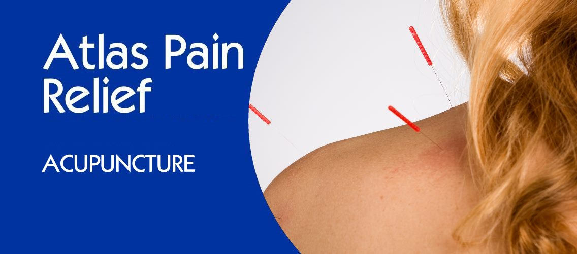 Atlas Pain Relief Banner - Mobile - Acupuncture