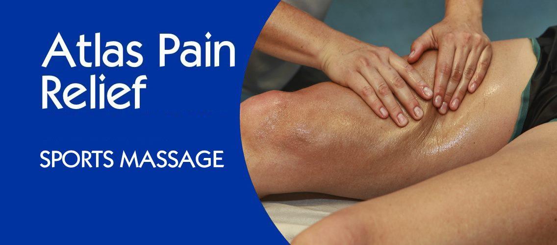 Atlas Pain Relief Banner - Mobile - Sports Massage