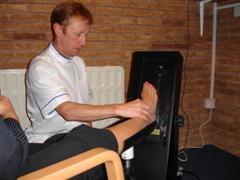 Laser foot scan